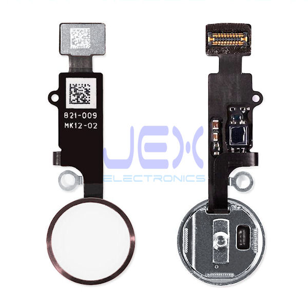 Rose Gold Pink Home Button/Touch Fingerprint ID Sensor Flex Cable For iPhone 7 or 7 Plus