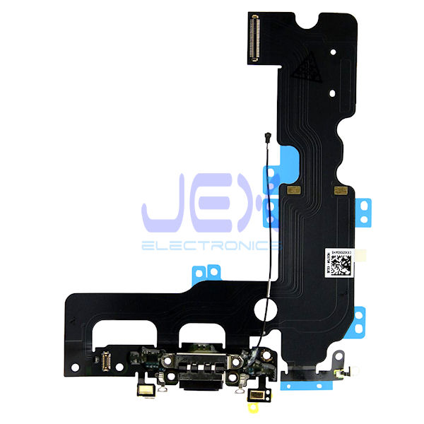 Black Charging Port jack dock Microphone Flex Cable for Iphone 7 Plus