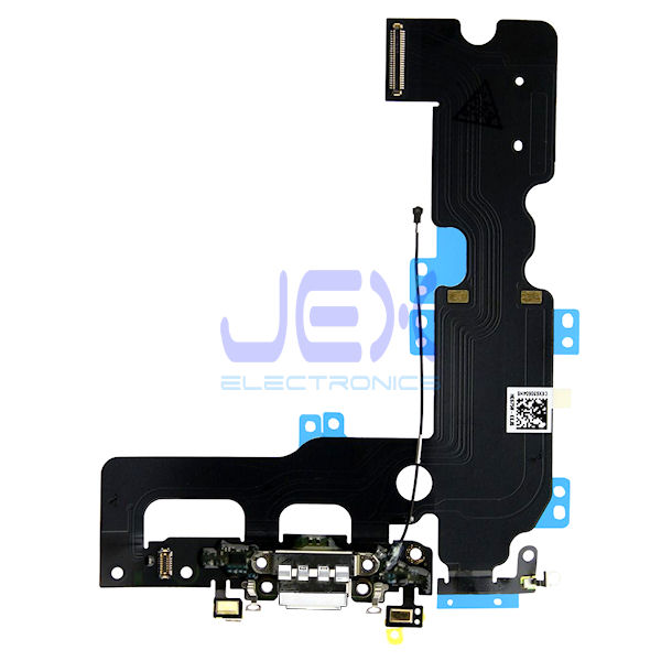 White Charging Port jack dock Microphone Flex Cable for Iphone 7 Plus