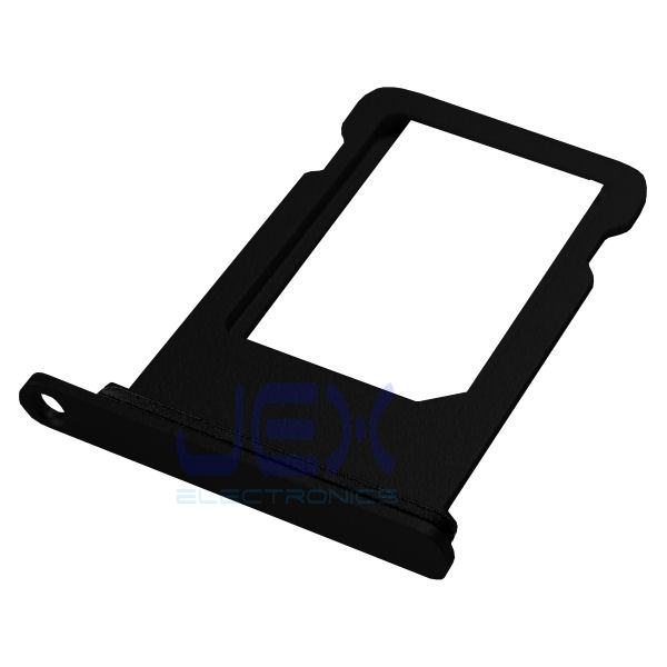Black Aluminum Nano Sim Card Holder Tray for iPhone 8