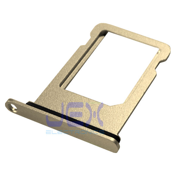 Gold Aluminum Nano Sim Card Holder Tray For Iphone 7 Plus