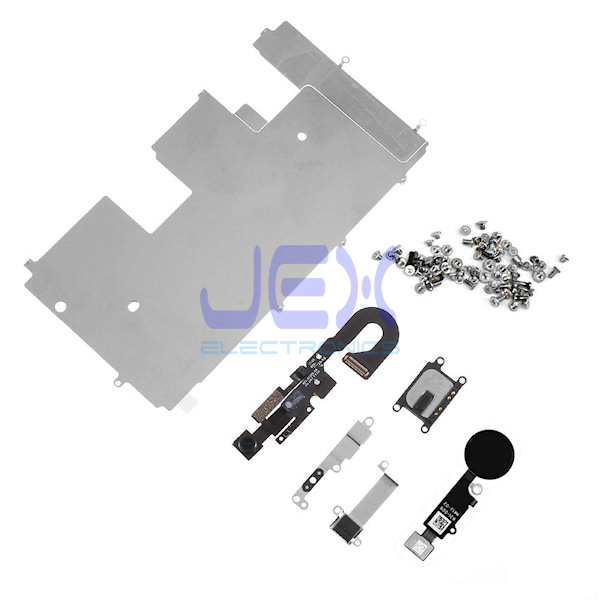 LCD Display Repair Parts kit for iphone 8 Plate, Home, Camera, Speaker flex