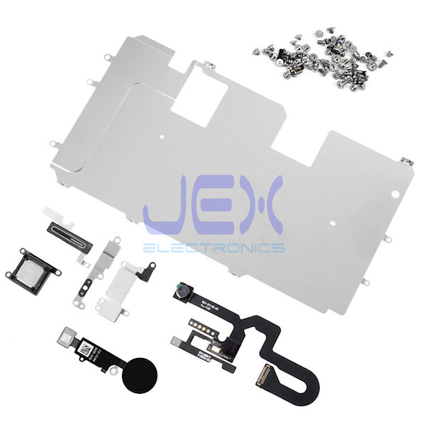 LCD Display Repair Parts kit for iphone 8 Plus Plate, Home, Camera, Speaker flex
