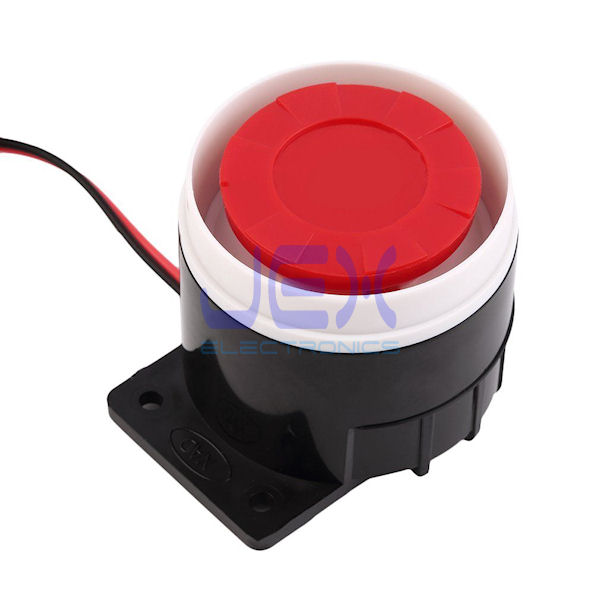 Add-on Loud 120dB 12V Mini Wired Indoor Siren Alarm