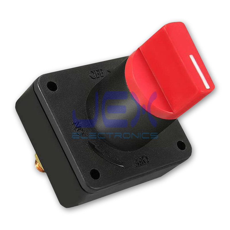 12V-24V Battery Power Isolation Kill Cutoff Switch for Solar, Car, Boat, RV