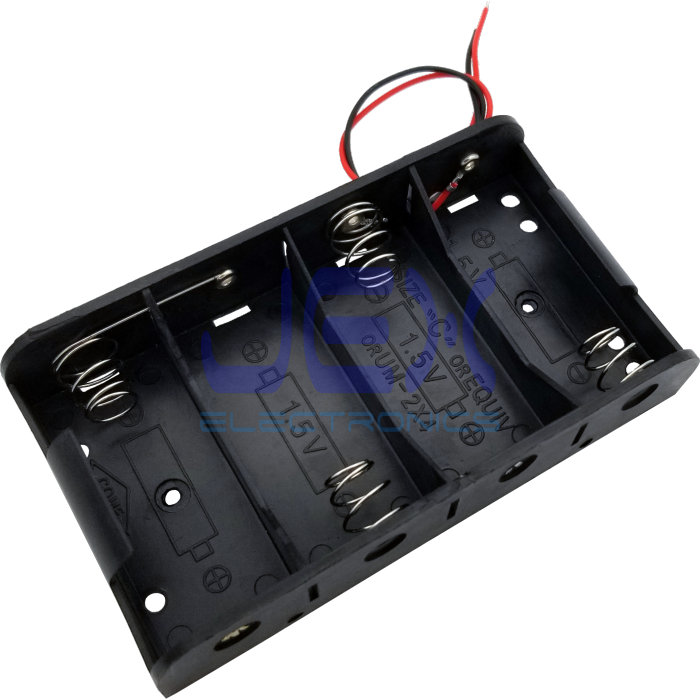 AA x 1 Battery Holder Box Case PCB Mount