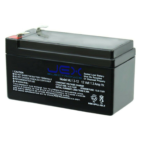 Backup Battery for Advanced TCP/IP and 4G/GSM Alarm System Control Panel