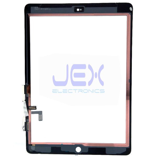 Black Glass Digitizer Touch Screen Full Front Assembly for iPad 5th Gen A1822 A1823