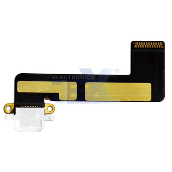 White Charging Port/dock Connector Flex Cable iPad Mini