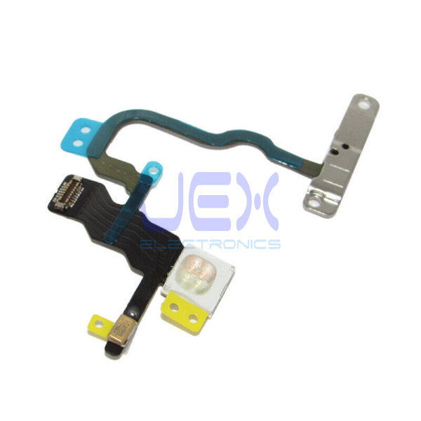 Power Button Flex Cable with Mic LED Flashlight for Iphone X
