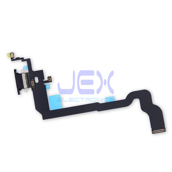 Black Charging Port dock lower Microphone Antenna Flex Cable for Iphone X