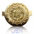 Crystal/Diamond Gold Home Button for Iphone 3G, 3GS, 4 or 4S