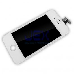 White Full Front Frame Digitizer Touch Screen & LCD Assembly for IPhone 4S