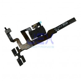 Black Headphone Jack Flex Cable for Iphone 4S Volume button/silent switch/upper mic