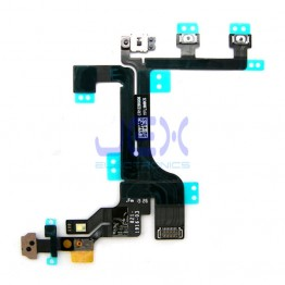 Power Flex Cable Power/Volume Button/Mute Switch/Upper Mic for Iphone 5C