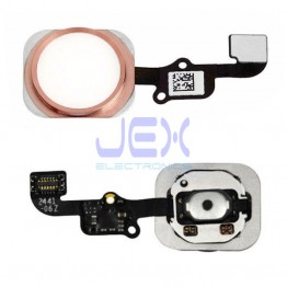 Rose Gold Pink Home Button/Touch Fingerprint ID Sensor Flex Cable For iPhone 6S/6S Plus