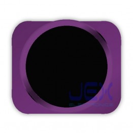 Black With Purple Trim iPhone 5S Style Look/Looking Home button for iPhone 5 or 5C