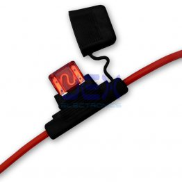 In-Line Car APX MAXI Blade Fuse Holder Waterproof 8AWG/8ga Upto 70A 12V/24V/32V DC