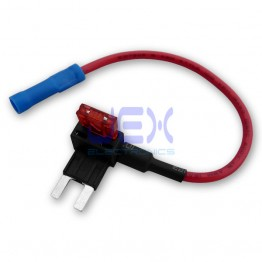Standard ATM Mini Blade Fuse Tap/Breakout Holder Add a Circuit for Car/Motorcycle