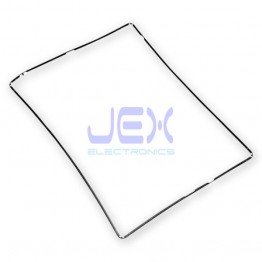 Black Plastic Digitizer Mid-Frame Bezel Support for iPad 2, 3 or 4