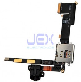 Sim Card Reader/Headphone Jack Flex Cable for iPad 2 3G Version