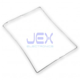 White Plastic Digitizer Mid-Frame Bezel Support for iPad 2, 3 or 4