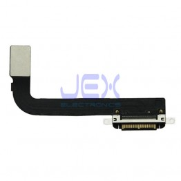 Black Charging Port/dock Flex Cable for iPad 3
