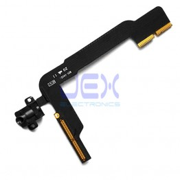 Black Headphone Jack Flex Cable for iPad 3 or 4
