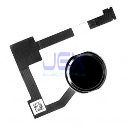 Black Home Button/Touch Fingerprint ID Sensor Flex Cable For iPad Air 2