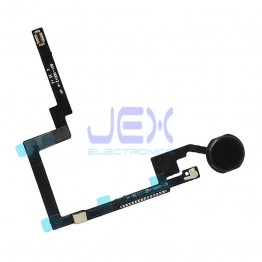 Black Home Button/Touch Fingerprint ID Sensor Flex Cable For iPad Mini 3
