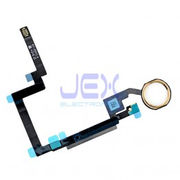 Gold Home Button/Touch Fingerprint ID Sensor Flex Cable For iPad Mini 3