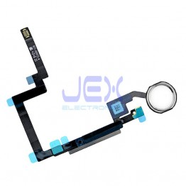 Silver Home Button/Touch Fingerprint ID Sensor Flex Cable For White iPad Mini 3