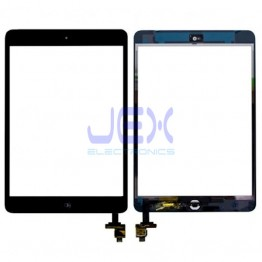 Black Glass Digitizer Touch Screen Full Assembly With IC for iPad Mini 1 or 2