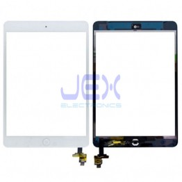 White Glass Digitizer Touch Screen Full Assembly With IC for iPad Mini 1 or 2