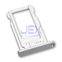 Silver Nano Sim Tray For White iPad Mini, Mini 2 or iPad Air