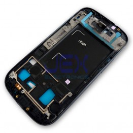 Black Front Frame Middle Midframe Bezel Chassis For Samsung Galaxy S3