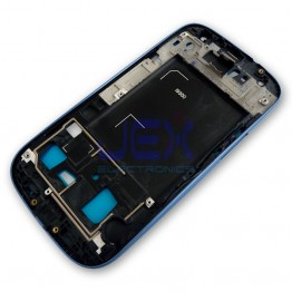 Blue Front Frame Middle Midframe Bezel Chassis For Samsung Galaxy S3