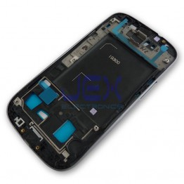 Silver Front Frame Middle Midframe Bezel Chassis For Samsung Galaxy S3
