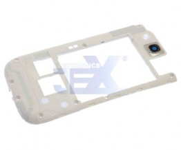 White Back Middle Frame Midplate Midframe Bezel For Samsung Galaxy S3