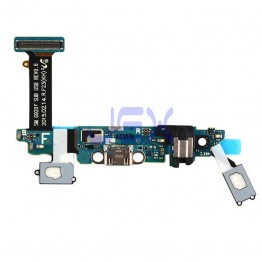 Original Menu Button Sensor Charging Port Flex Cable for Samsung Galaxy S6 G920F