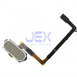 Gold Home Button Fingerprint Sensor Flex Cable For Samsung Galaxy S6