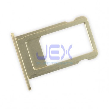 Gold Aluminum Nano Sim tray for Gold Iphone 6S Plus