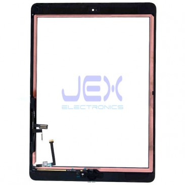 Black Glass Digitizer Touch Screen Full Front Assembly for iPad Air